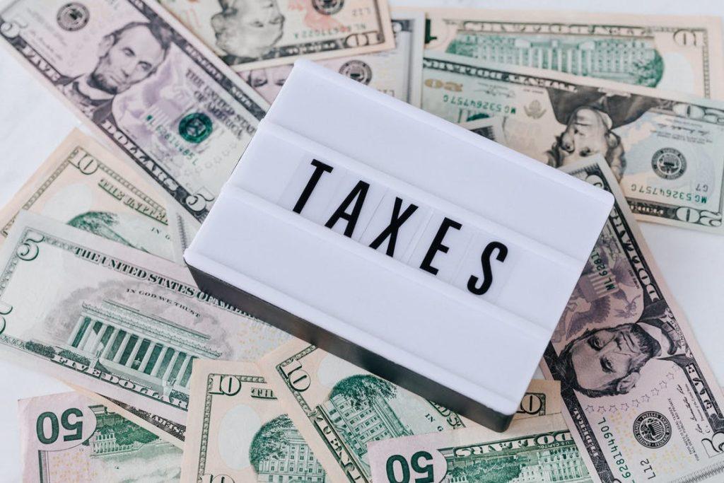 仮想通貨の税金の画像